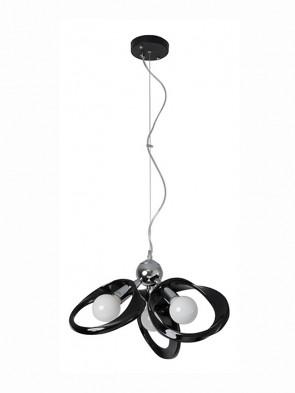 Lampa wisząca Emma 3 czarna