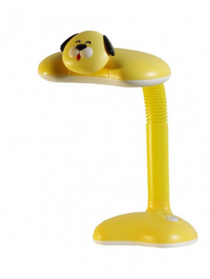 Dziecięca lampka biurkowa, nocna Pies żółty