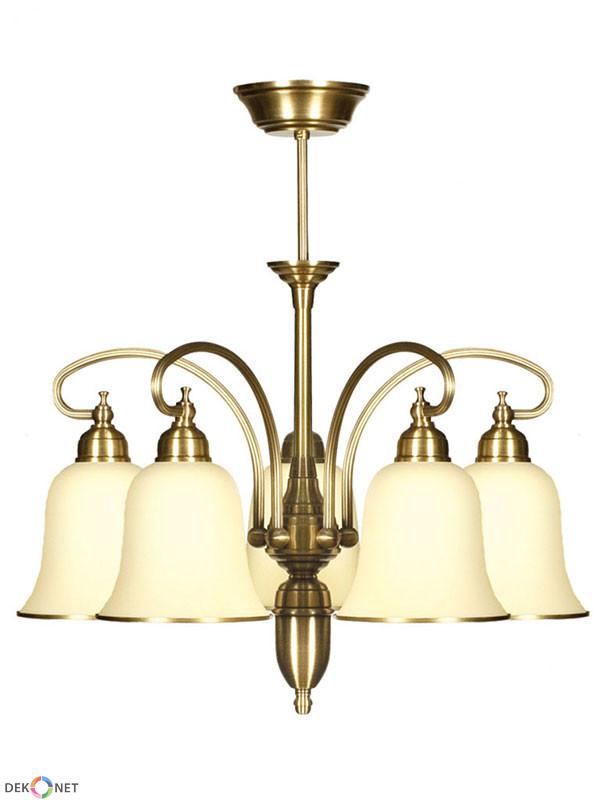 Elegancki klasyczny żyrandol do salonu KALIA 5 (5x60W