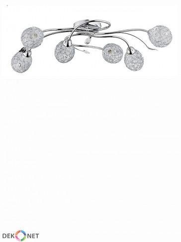 Lampa sufitowa krótka Swing 6