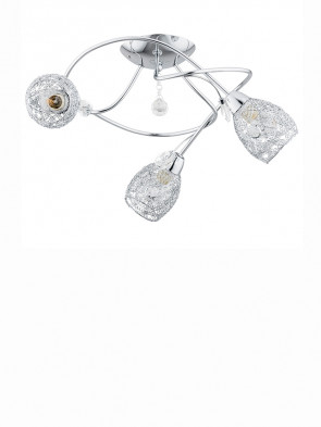 Lampa sufitowa krótka Crystal Twister 3