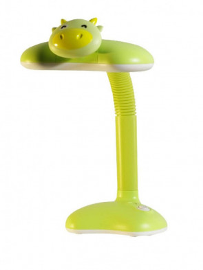Dziecięca lampka biurkowa, nocna Krówka zielona