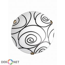 Plafon Helix Biały P1