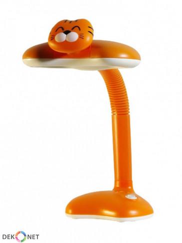 Dziecięca lampka biurkowa, nocna Trygrysek pomarańczowy
