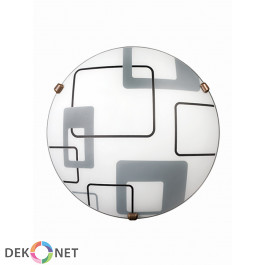 Plafon Quadro Biały P1