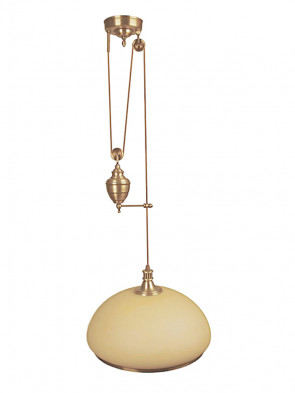 Lampa wisząca raf -  1 płomienna
