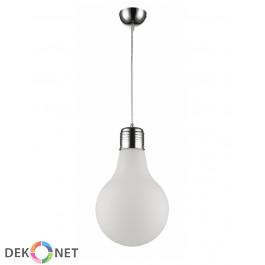 LAMPA WISZĄCA FLO 150-1 MLECZNA - 1 PŁOMIENNA
