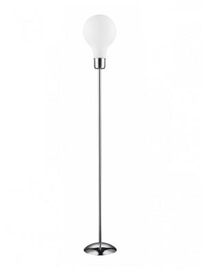 Lampa podłogowa FLO 158-1 mleczna - 1 płomienna