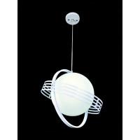 Lampa wisząca Saturno A biała
