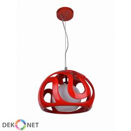 Lampa wisząca Akiba czerwona
