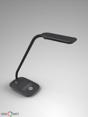 Ledowa lampa biurkowa MT918 czarna