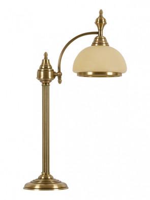 Lampa stołowa Palermo -  1 płomienna, mosiężna lampa stołowa.