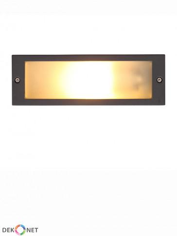 Lampa ścienna do zabudowy INA