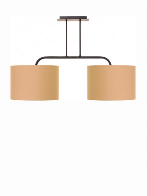 Lampa sufitowa ALICE COFFEE II M