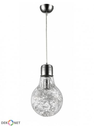 Lampa wisząca FLO 161-1 - 1 płomienna