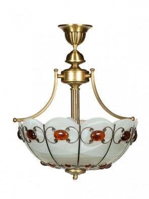 Lampa Aster ampla -  3 płomienna lampa wisząca
