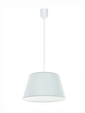 Lampa wisząca Kegle Biała