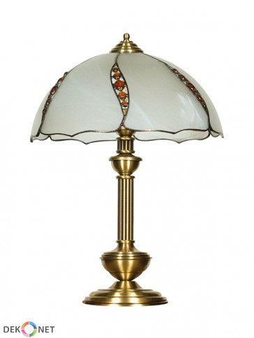Lampa stołowa Rubin -  1 płomienna, duża lampa stołowa