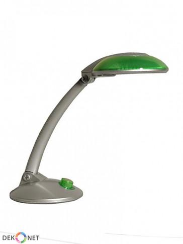 Lampa biurkowa MT3127, zielona z mocną świetlówką