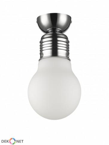 Lampa sufitowa FLO ampla 154-1 mleczna - 1 płomienna