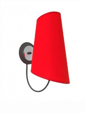 Kinkiet Victoria czerwony