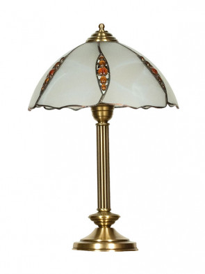 Lampa stołowa Rubin  - 1 płomienna, średnia lampa stołowa