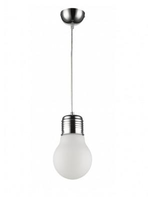 Lampa wisząca FLO 151-1 mleczna - 1 płomienna