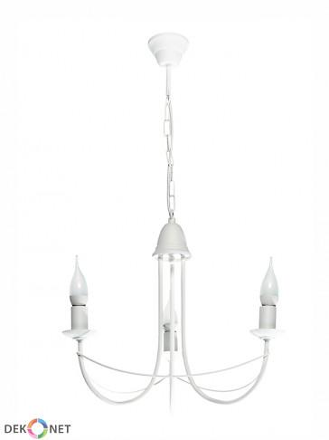 Lampa wisząca Nikozja 3 biała