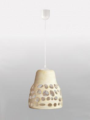 Lampa wisząca 002 kremowa