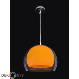Lampa wisząca Malta pomarańcz