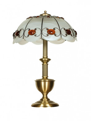 Lampa stołowa Aster -  1 płomienna, duża lampa stołowa