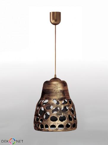 Lampa wisząca 002 złota
