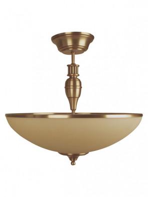 Lampa, ampla Beryl - 2 płomienna ampla mosiężna.