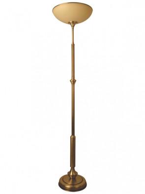 Lampa podłogowa Olimp -  2 płomienna lampa podłogowa z mosiądzu.