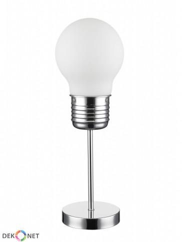 Lampa stołowa FLO 157-1 mleczna - 1 płomienna