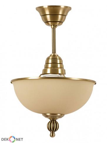 Lampa ampla Neptun - 1 płomienna, mosiężna ampla