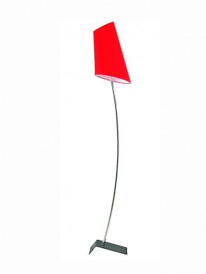 Lampa podłogowa Victoria czerwona