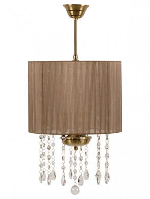 Lampa wisząca Udine -  3 płomienna lampa z abażurami