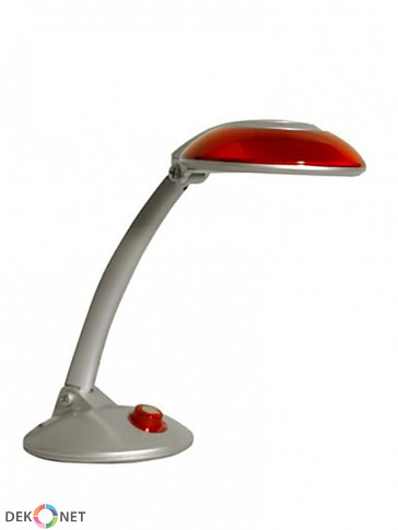 Lampa biurkowa MT3127, czerwona z mocną świetlówką