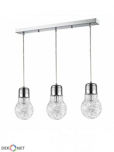 Lampa wisząca 3 płomienna FLO KR166-3