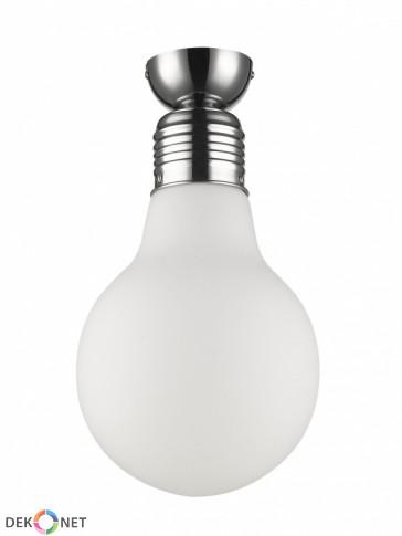 Lampa sufitowa FLO ampla 153-1 mleczna - 1 płomienna