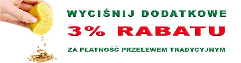 Rabat za płatność gotówką